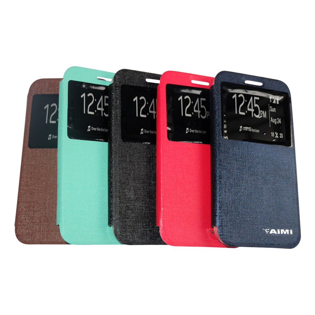 AIMI FlipShell Oppo Neo 7 / Flip Cover Oppo A33T / Leather Case Oppo A33 / Casing Oppo Neo7 Flipcase | Shopee Indonesia
