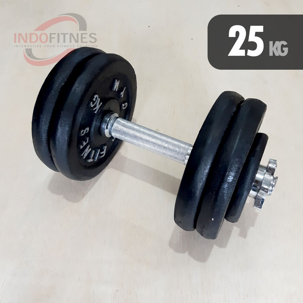 Dumbell Set Besi 5kg Barbell 5 Kg Shopee Indonesia Stamina Barbel Dumbel Plastik 2kg