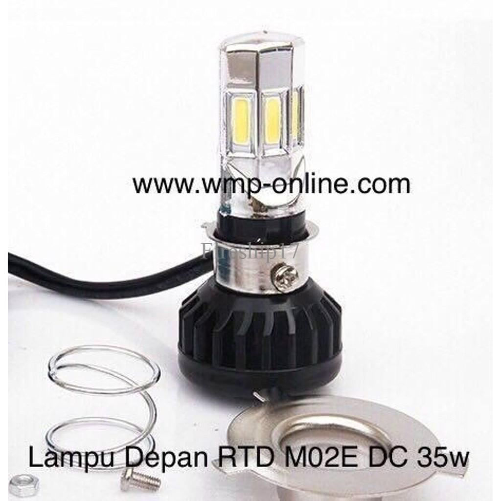 Lampu Depan Rtd M02e Ac Dan Dc 35w 6led 6 Sisi 6sisi Shopee Indonesia M11g Led