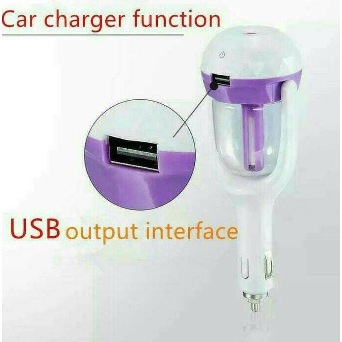 Nanum Car Humidifier Diffuser Aromatraphy With Usb ..