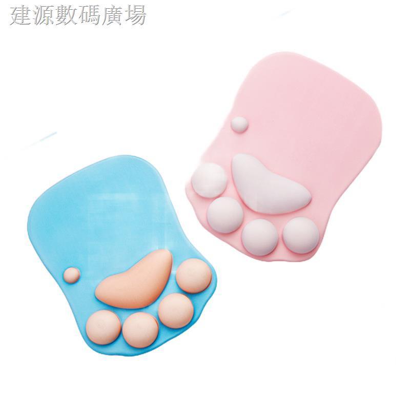 mouse pad bentuk telapak kaki kucing lucu gaya korea shopee indonesia mouse pad bentuk telapak kaki kucing lucu gaya korea