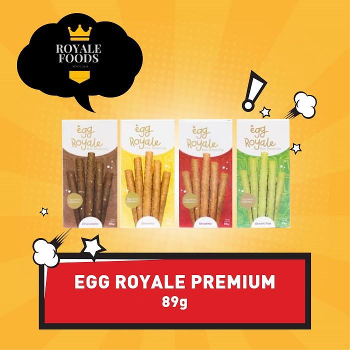 Paket 2 Egg Royale Box 89 Gram Bonus 1 Botol Hand Sanitizer Snack Cemilan