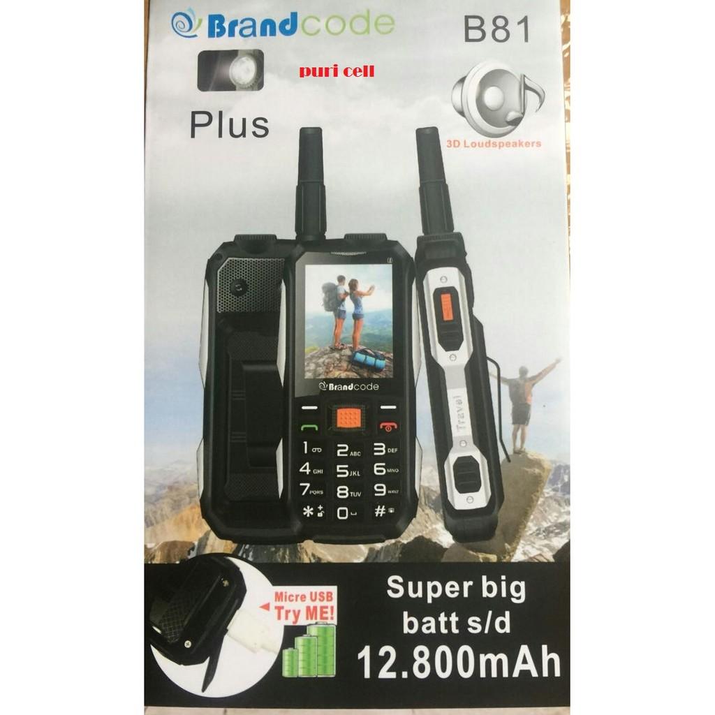 Brandcode B81 Plus Pro Bisa PowerBank Batt 12.800 MAH