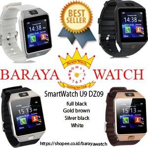 Smart Watch Z9 Black Grey Tangan Pintar Android Jam Smartwatch | Shopee Indonesia