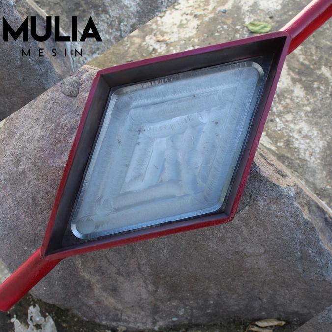 cetakan paving wajik cetakan paving 3D cetakan paving belah ketupat MURMER