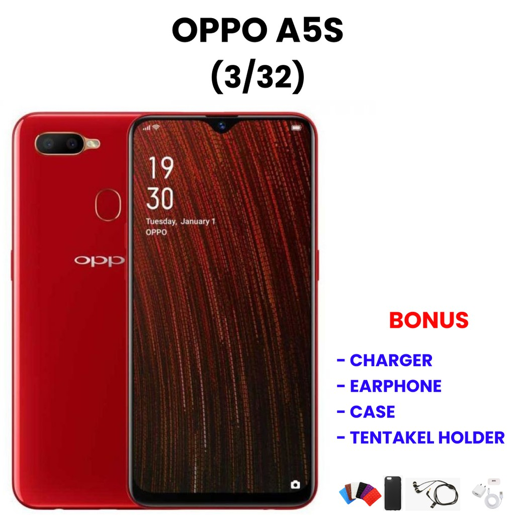 OPPO A5S 3/32 | HP Bekas | Smartphone Bekas | Handphone Bekas | Handphone Murah | HP Ori