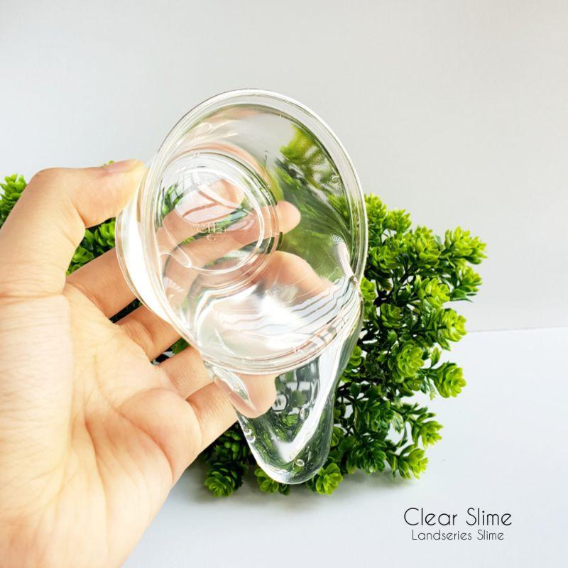 200ml Clear Slime by Landseries Slime