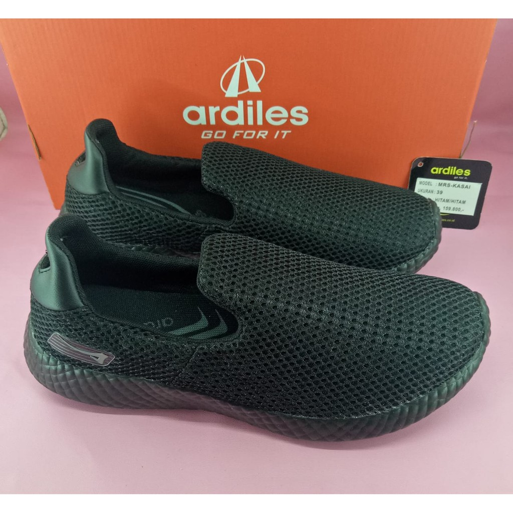 Ardiles Men Volga Sepatu Running Hitam Abu Shopee Indonesia 770 Futsal Soccer Shoes Kuning 42