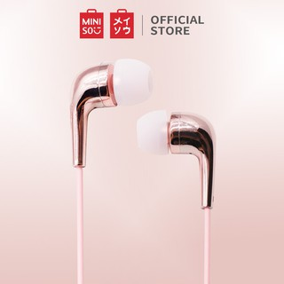MINISO Earphone Earbuds In-Ear Headphone Noise Cancelling Awet Headset Universal 2 gaya