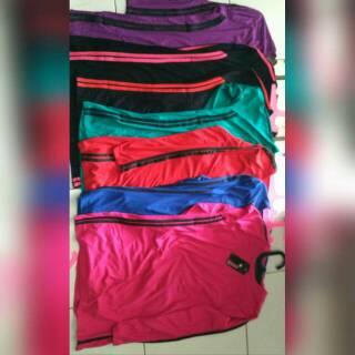 Perbandingan harga Baju Senam Lengan Panjang | Senam | Zumba | Gym | Aerobic | Pakaian Senam | Baju olahraga lowest price - only 55.536Rp