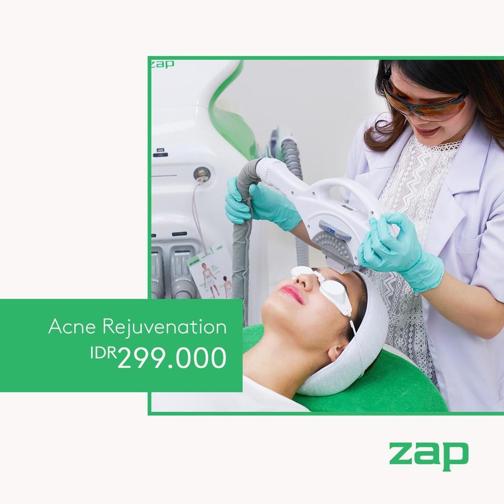 Zap Clinic Acne Rejuvenation Shopee Indonesia