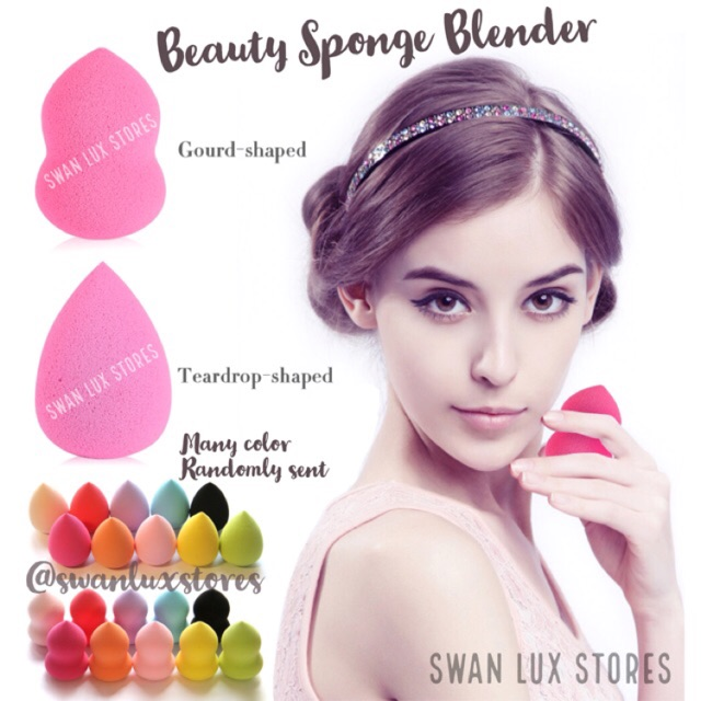 High Quality Beauty Blender Foundation Spons Sponge Applicator | Shopee Indonesia