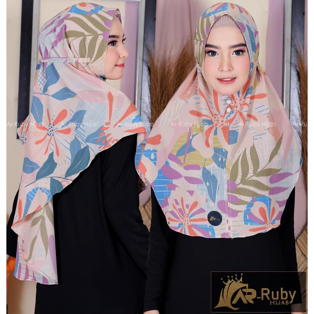 Instan Baiti Curcuma | Hijab Instan | Jilbab Instan motif