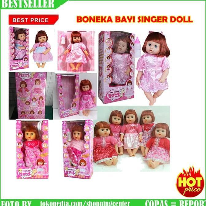 Best Seller Boneka Baby Singer Doll ( Bisa Berbicara Dan Nyanyi ... 7192705c0c