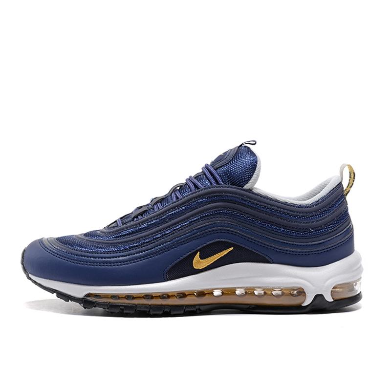 Nike Air Max 97 OG Pria dan Wanita Navy Blue Mode Sepatu
