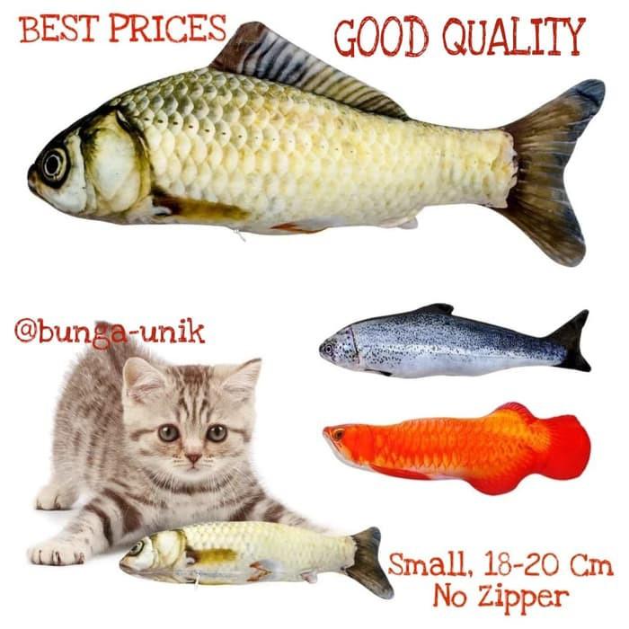Obat Kutu Kucing Makanan Hewan Whiskas Boneka Ikan Fish Catnip