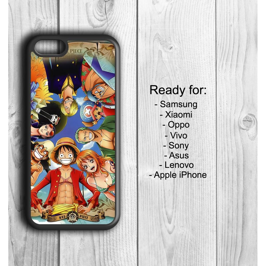 One Piece Wallpaper Custom Case Handphone Iphone Samsung Oppo Vivo Xiaomi Lenovo Asus Sony Shopee Indonesia