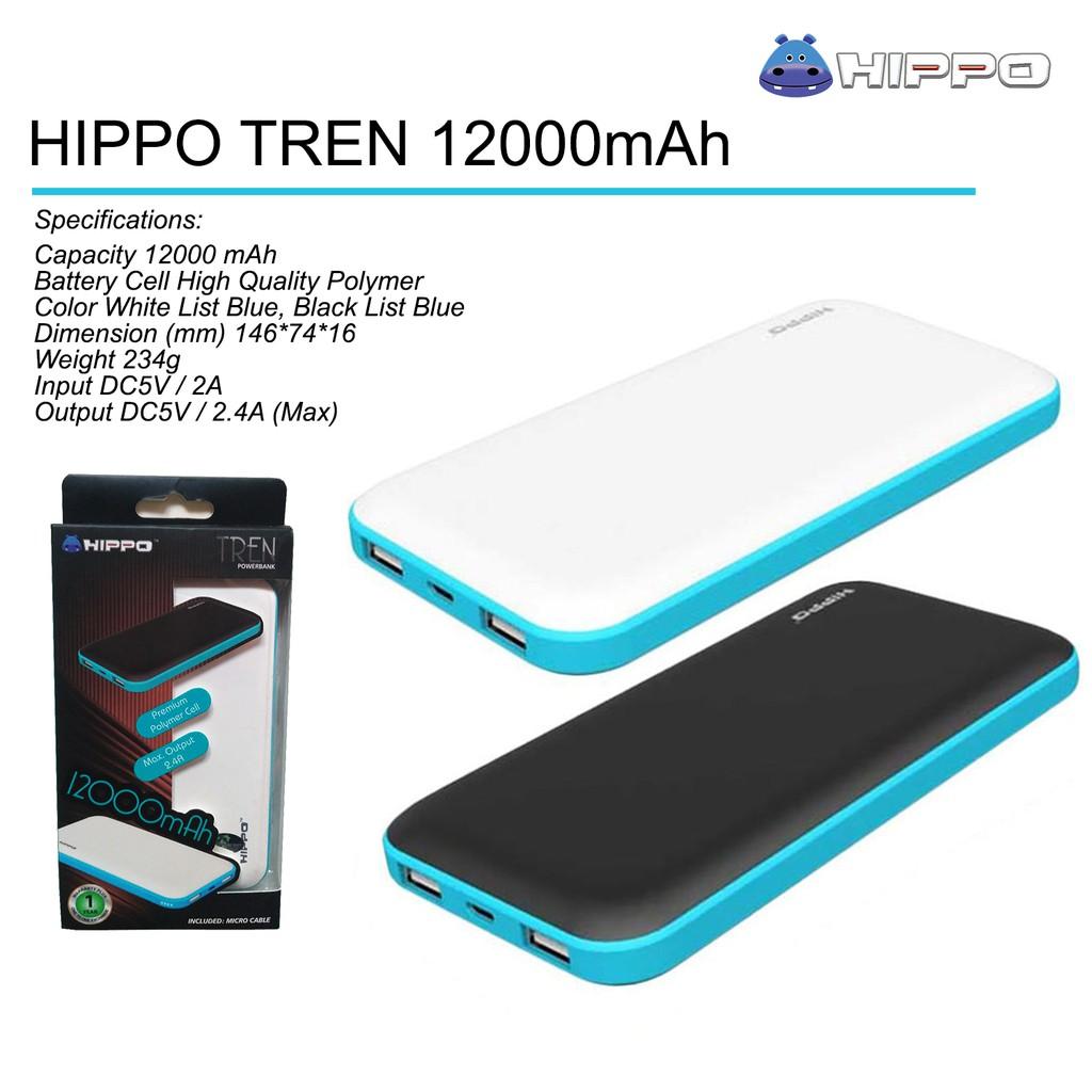 Hippo Power Bank Bee 11000 Mah Shopee Indonesia Bronz 7500 Simple Pack Putih