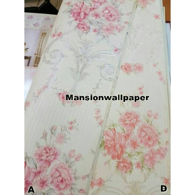 Wallpaper Dinding Bunga Klasik Elegan Shopee Indonesia