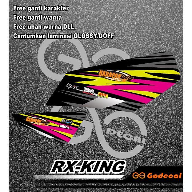 STRIPING/LIST VARIASI RX-KING