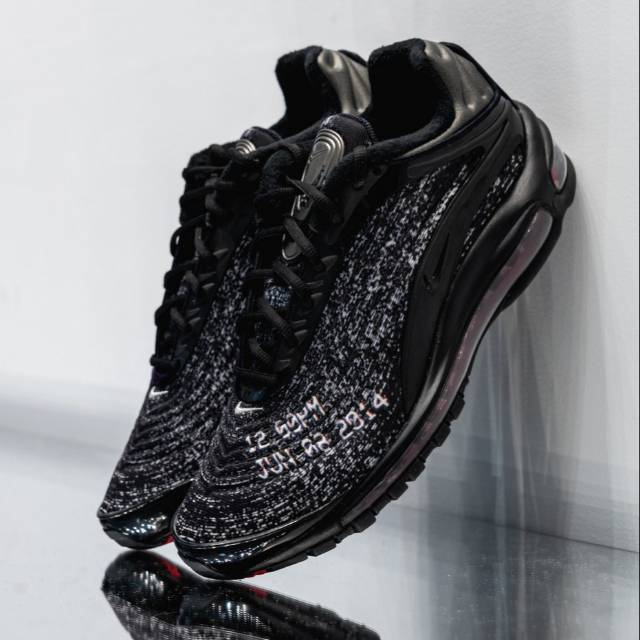NIKE AIR MAX 97 DELUXE NEVER SLEEP ON TOUR SKEPTA BLAC RED