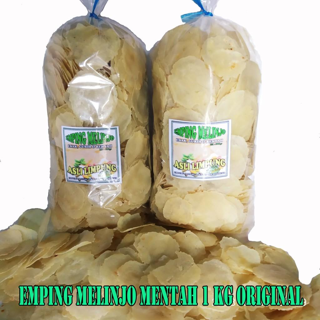 Emping Melinjo Srikandi Super 1kg Shopee Indonesia Njo Kecil Pedas Daun Jeruk Premium 500 Gram