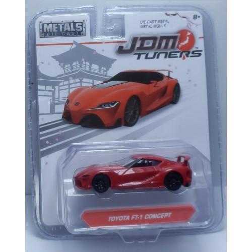 Toyota Ft 1 >> Jada 1 64 Jdm Tuners 1 Toyota Toyota Ft 1 Concept