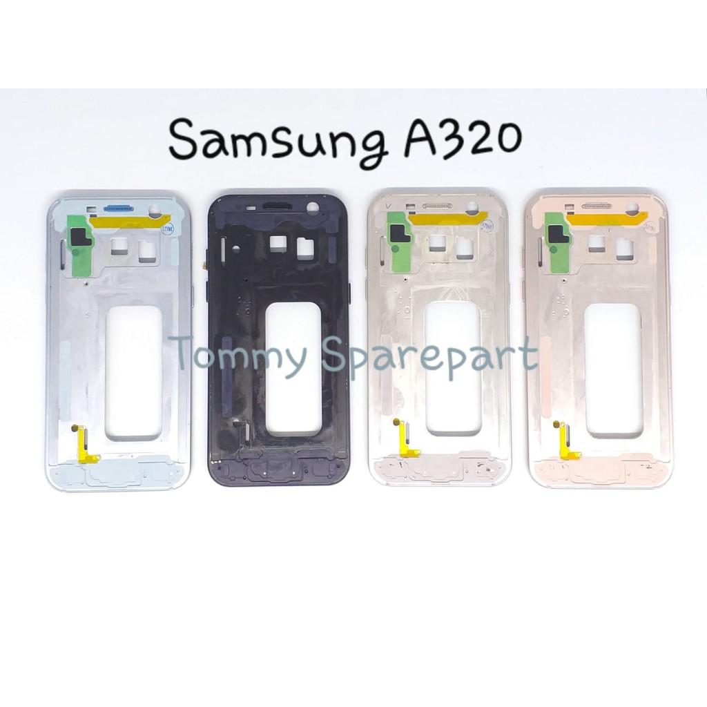 FRAME LCD - TULANG LCD SAMSUNG A320 / A3 2017 TATAKAN LCD