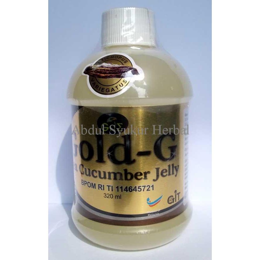 Gold G Jelly Gamat Teripang Emas Sea Cucumber Herbal Natural Alami Best Seller 500m Terjamin Sembuh Obat Epilepsi Dan Ayan Shopee Indonesia