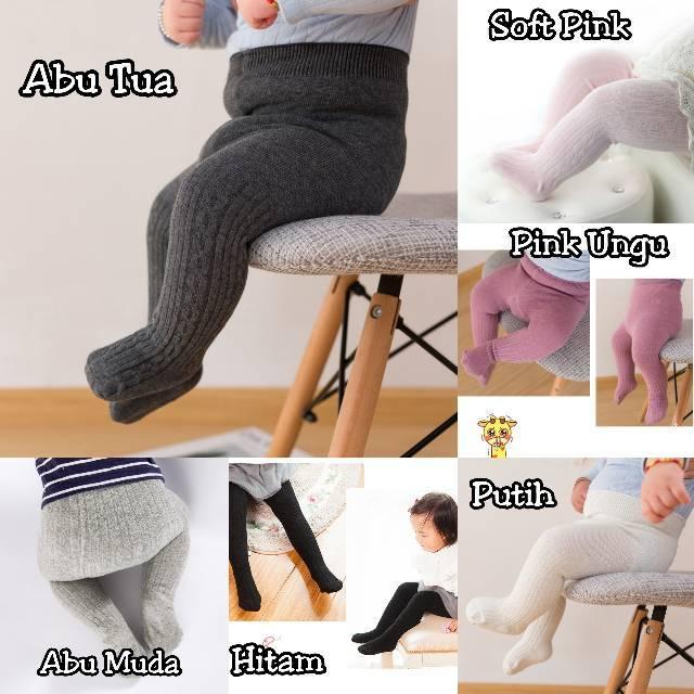 Legging Model Tertutup Legging Polos Bayi Celana Legging Anak Impor Legging Bayi Newborn Shopee Indonesia