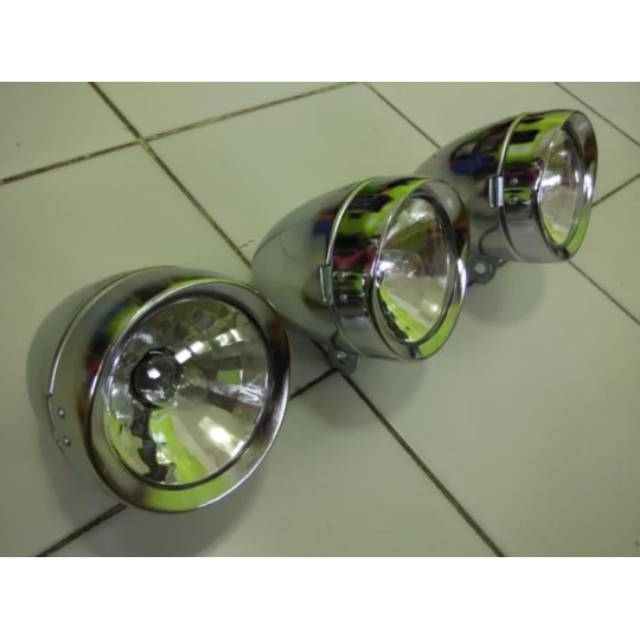 Lampu Ontel Jadul Streetcub C70 Retro Chopper Shopee Indonesia