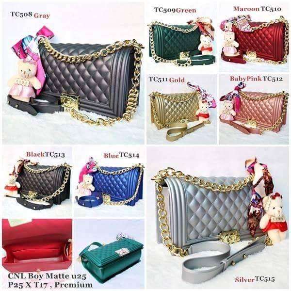 3c8f0403f519 Promo New Arrival Tas Wanita Chanel Boy Jelly Matte 25 cm Best Seller Harga  Murah Diskon Sale Obral   Shopee Indonesia