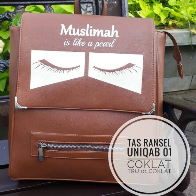 Tas Muslimah Dakwah Ransel. Beauty In Your Faith df9197aaf0