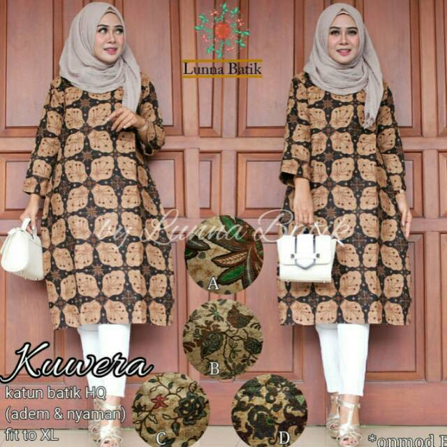 Dapatkan Harga blouse Tunik Batik   Kebaya Atasan Batik Atasan Kebaya  Diskon  0ba5253eba