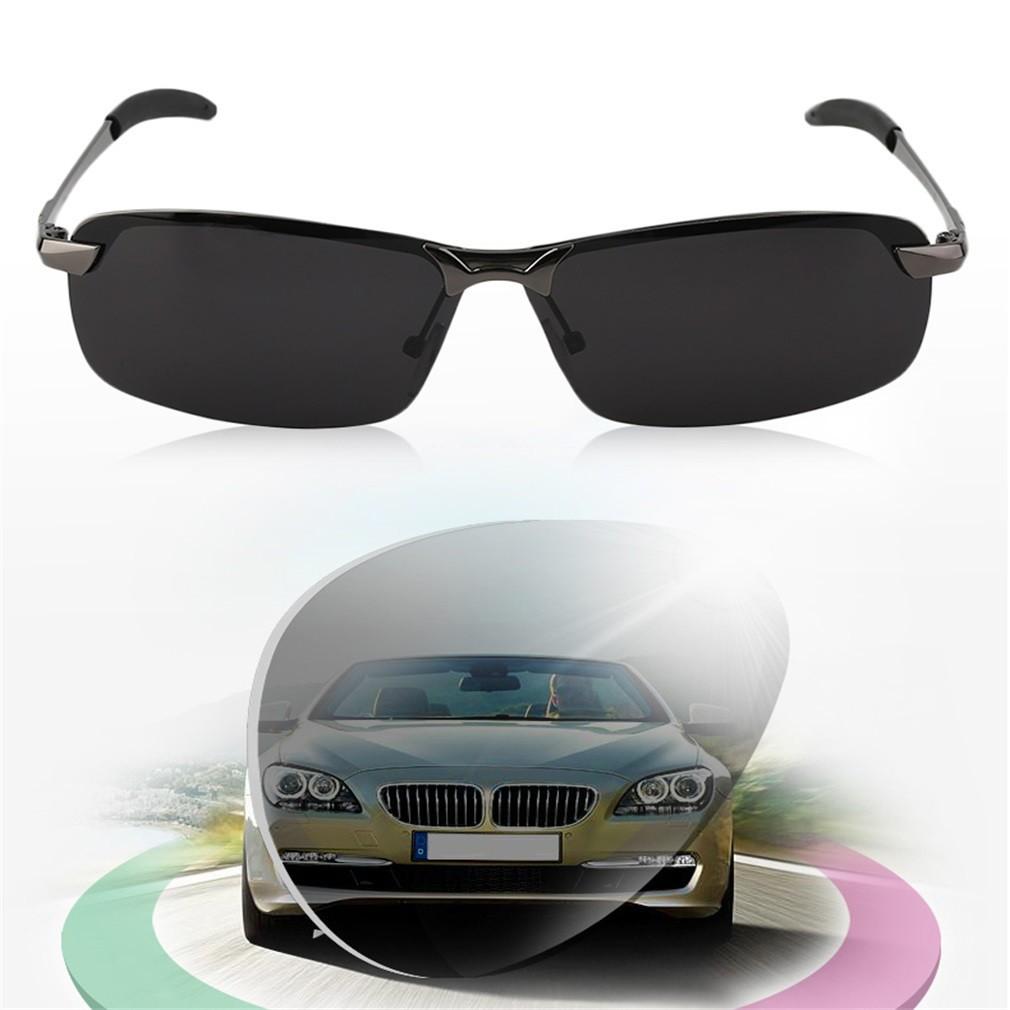 Aimons Kacamata Sport Nightvision Sunglasses View Malam Safety Night Vision Glasses Kaca Mata Anti Silau Version Shopee Indonesia
