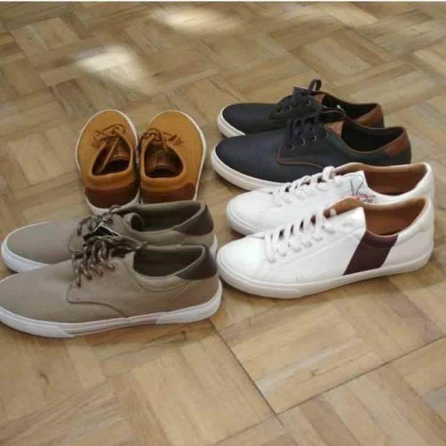 Sepatu Keds Cowok Sepatu Olahraga Kets Pria Pull Bear Shopee