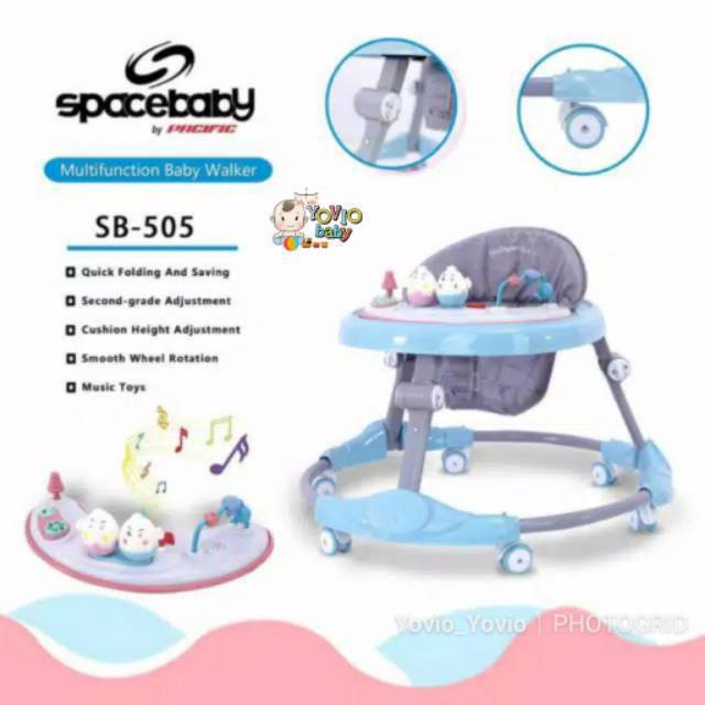 BABY WALKER SPACE BABY BY PACIFIC (KHUSUS GOSEND) | Shopee ...