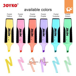 Joyko Highlighter Pastel Color Unik Murah HL11 / Penanda Murah