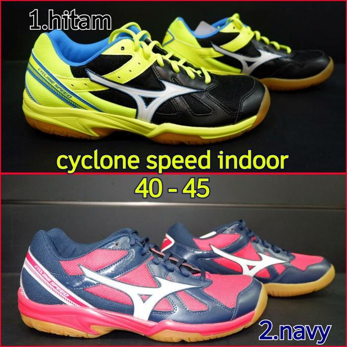 GS0073 Sepatu Indoor Badminton   Voli Mizuno Cyclone Speed Original ... 82a15fc3bd