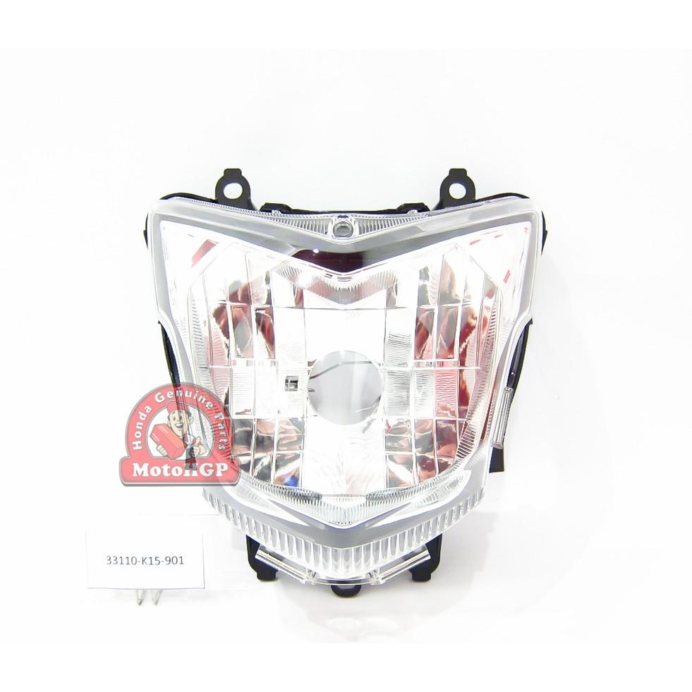 Headlight Assy Lampu Depan Reflektor Led New Cb150r Streetfire Bohlam Old Shopee Indonesia