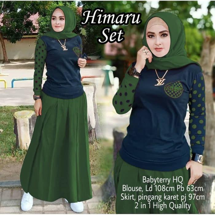 Dress Gamis Zolaqu Terbaru 2025 Himaru Set Army Gamis 0152 Sk8 Baju Gamis Wanita Terbaru 85zgf Shopee Indonesia
