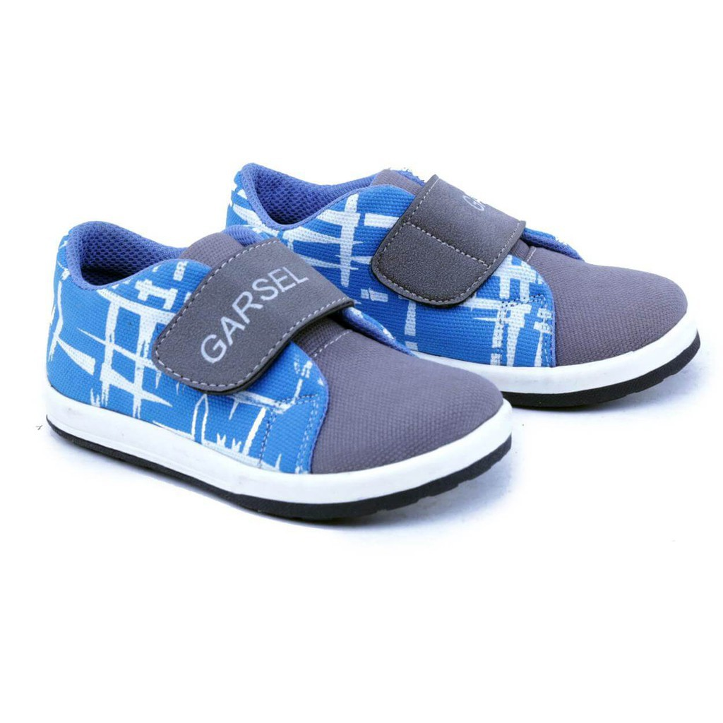 Garsel Sepatu Sneaker Shoes Anak Laki Gda 9505 Garucci 9070 Casual Sintetis Keren Hitam Fashion Branded Kasual Sneakers 9508 Original