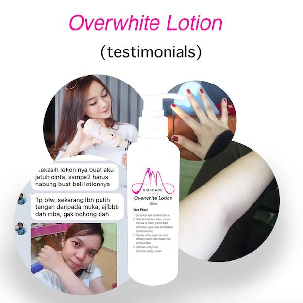 Whitening Lotion Overwhite Pemutih Kulit Tubuh Cepat Aman Handbody Racikan Aman Pencerah Permanen Shopee Indonesia