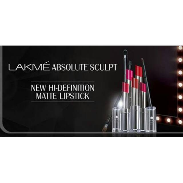 Lakme Absolute Reinvent Sculpt New Hi-Definition Matte Lipstick Pink Possession | Shopee Indonesia