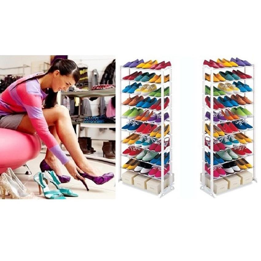 Amazing Shoe Rack / rak sepatu 10 susun / rak sepatu 10 tingkat