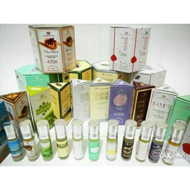 ORIGINAL ARAB Parfum Al Rehab Roll On 6ml 6 Ml Minyak