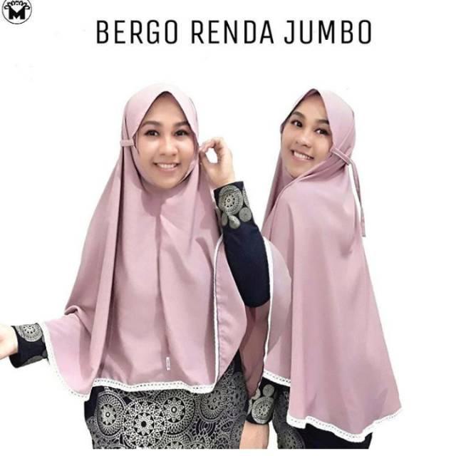 Bergo Renda Jumbo Shopee Indonesia