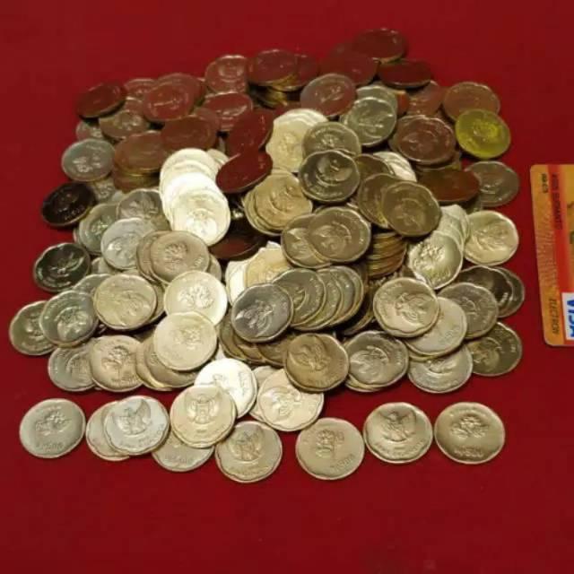 >>>uang koin 500 rupiah melati tahun 1991/1992