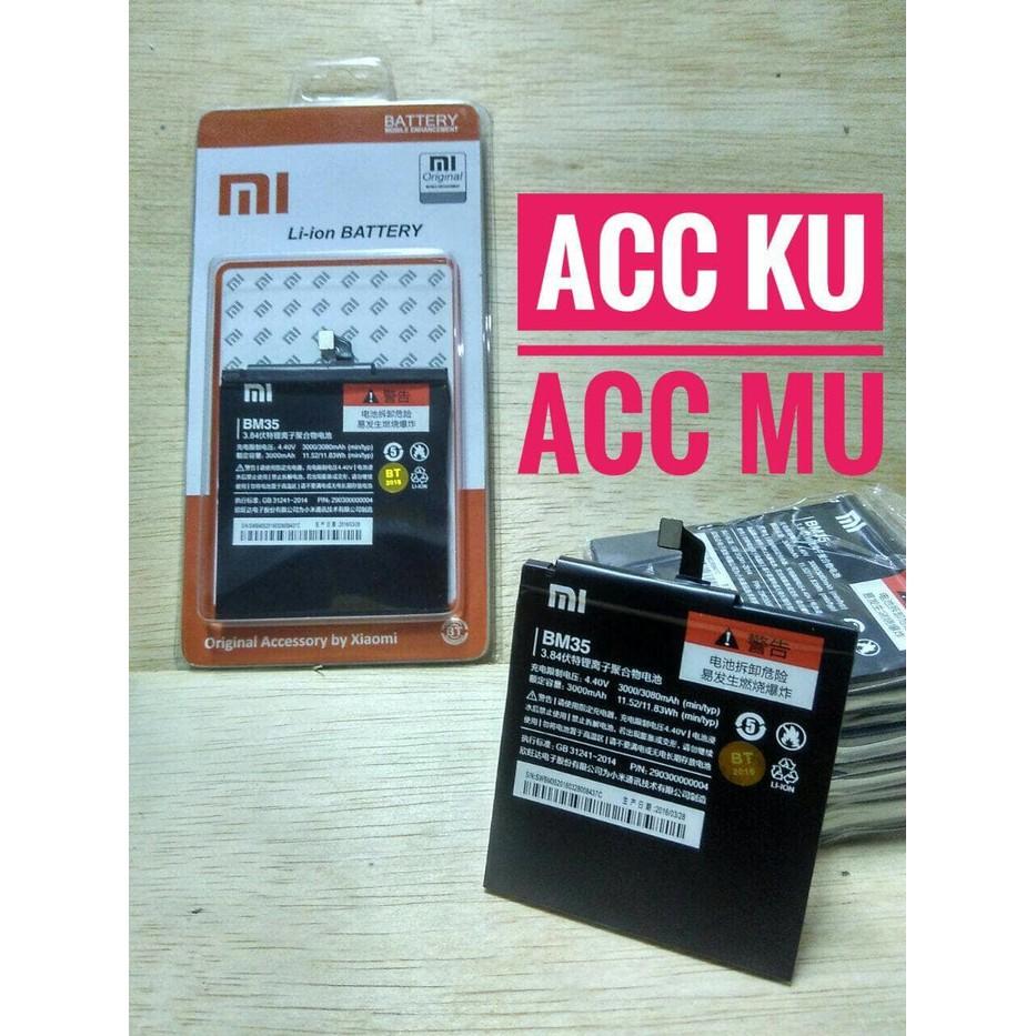 Baterai Battery Xiomi Xiaomi Mi4c Mi 4c Bm35 Bm 35 High Quality Batre Original Shopee Indonesia