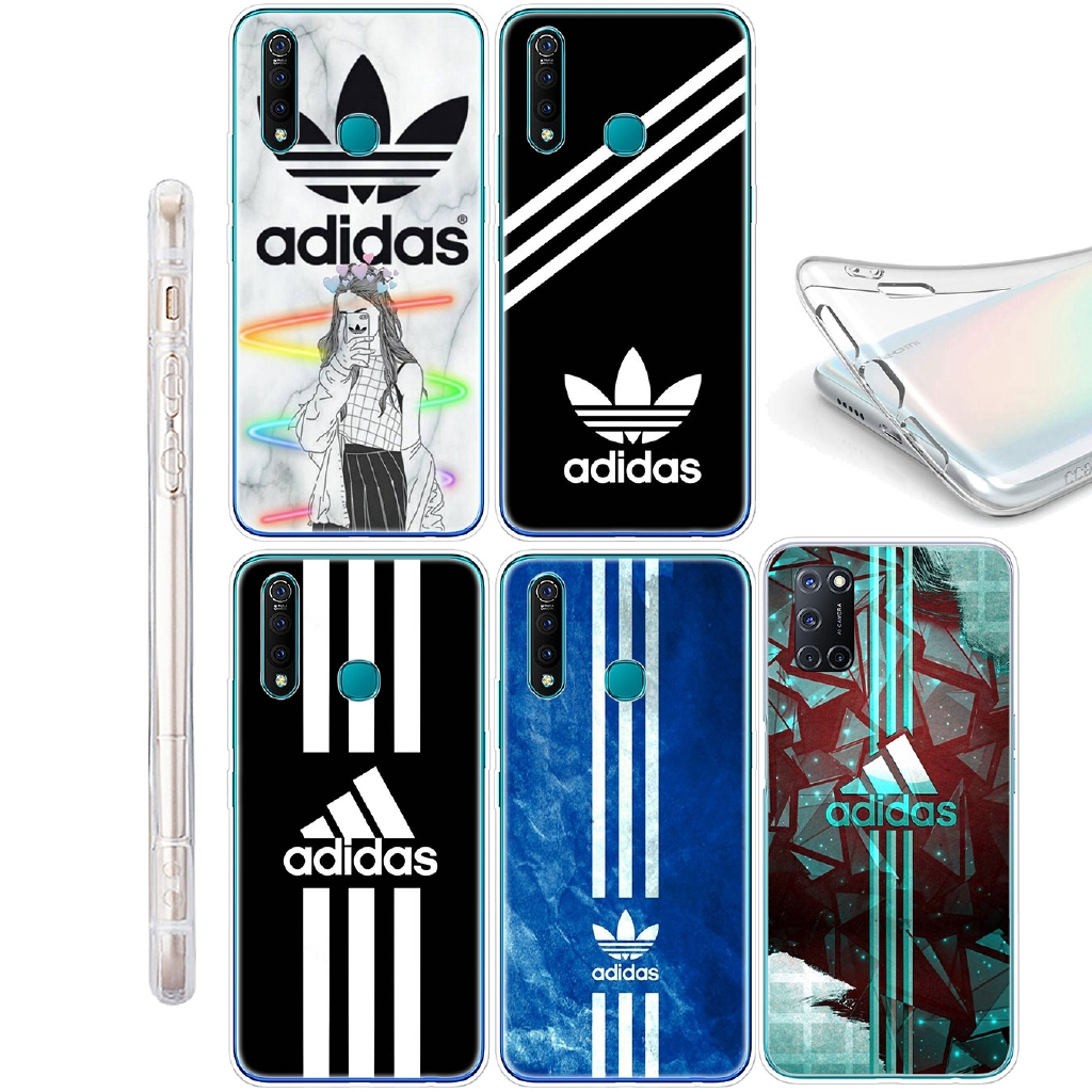 Samsung Galaxy A10 A20 A30 A40 A50 A10s A20s A30s A50s A20e Soft Cover Silicone Phone Case Logo Adidas Wallpaper Shopee Indonesia